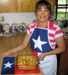 Real Texas Make Ahead Breakfast Casserole