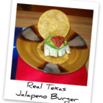 Real Texas Jalapeno Burger on Corn Tortillas