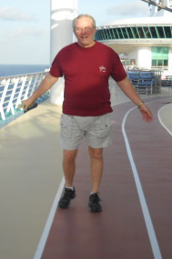 David Walking